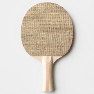 Rustikales Land-Vintage Leinwand Tischtennis Schläger