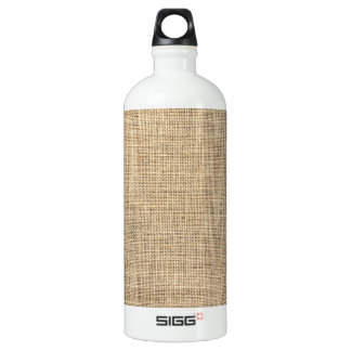 Rustikales Land-Vintage Leinwand Wasserflasche