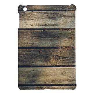 Rustikales Scheunen-Holz iPad Mini Cover