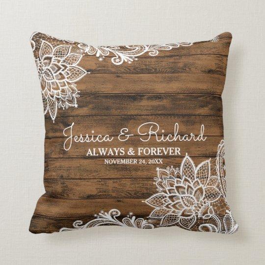 Rustikales Scheunen-Holz-und Kissen