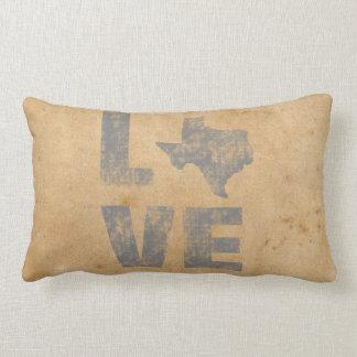 Rustikales Texas Lendenkissen