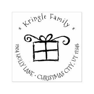 Rustikales Weihnachtsgeschenk-wunderliche Permastempel