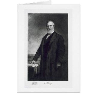 Rutherford B. Hayes, 19. Präsident von vereinigt Karte