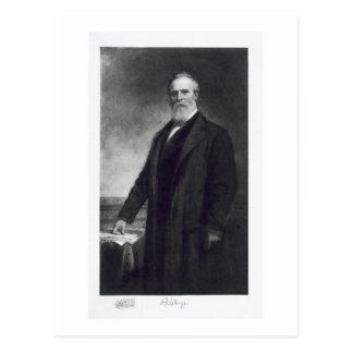 Rutherford B. Hayes, 19. Präsident von vereinigt Postkarte