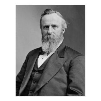Rutherford B. Hayes Postkarte