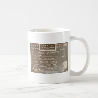 Rutherford-Wiedersehen Kaffeetasse