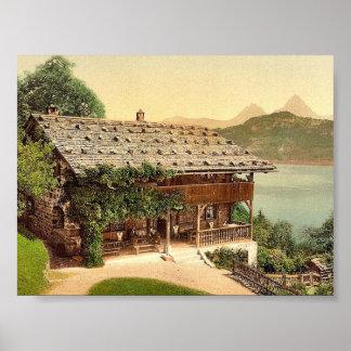 Rutli, allgemeine Ansicht, Luzerner See, die Schwe Plakatdrucke