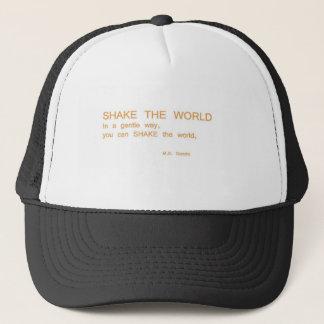RÜTTELN Sie die Welt - auf eine leichte Art Truckerkappe