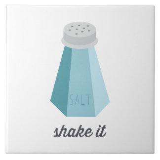 Rütteln Sie es | blauer Salz-Schüttel-Apparat Keramikfliese