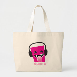 Rütteln Sie es kawaii DJ Einkaufstasche