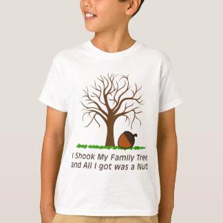 Rüttelte meinen Stammbaum und erhielt eine Nuss T-Shirt