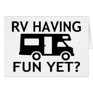 RV, der Spaß dennoch lustigen Wordplay hat Karte
