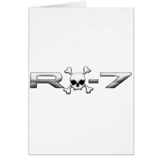 RX7 mit einem Schädel Karte