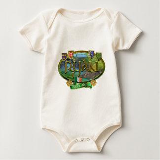 Ryan-Familien-Fahne Baby Strampler