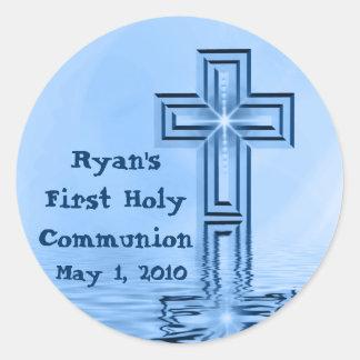 Ryans erste heilige Kommunions-Aufkleber