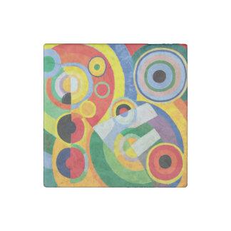 Rythme Joie de Vivre durch Robert Delaunay Stein-Magnet