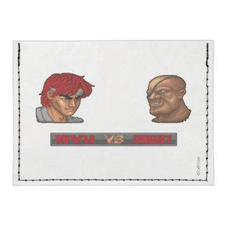 Ryu gegen Sagat Tyvek® Kreditkartenetui