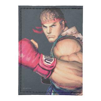 Ryu mit der Faust angehoben Tyvek® Kreditkartenhalter