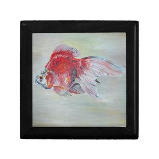 Ryukin Goldfisch Schmuckschachtel