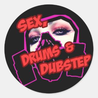 S3X TROMMELN und DUBSTEP Sticker
