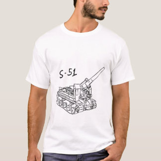 S-51 russisches SPG T-Shirt