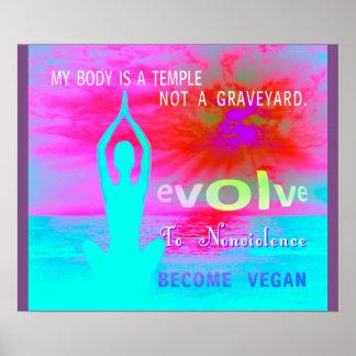 s ein Tempel - Plakat
