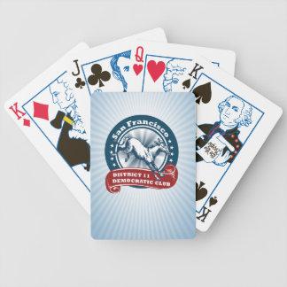 S.F. Offizielle Spielkarten des demokratischen