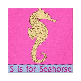 S ist für Seepferd Gespannte Galerie Drucke
