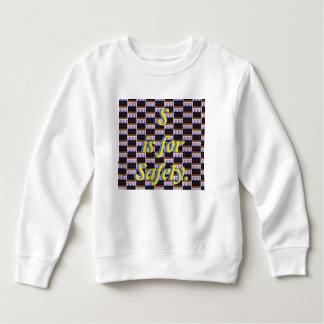 S ist für Sicherheits-Sweatshirt Sweatshirt