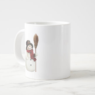 s mit Schneemann Jumbo-Tasse