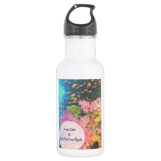 S.O.S ~ retten unsere Korallenriffe Trinkflaschen