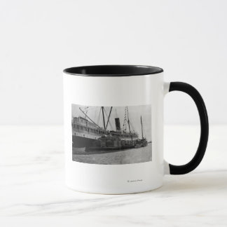 S.S. Alameda am Anchorage, Alaska-Fotografie Tasse