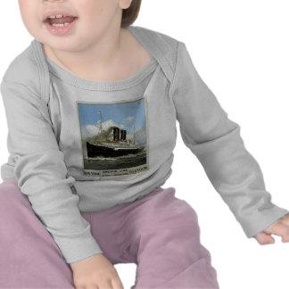S.S. Caledonia - New York nach und von Glasgow T Shirt
