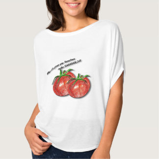 SAAAAAALSA! Flowy Kreis-Spitze T-Shirt