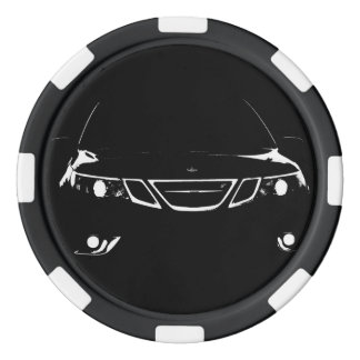 Saab Poker-Chips Pokerchips