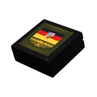 Saarland-Stolz Kleine Quadratische Schatulle
