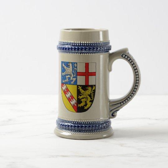 Saarland Wappen Bierglas
