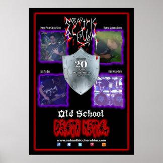 Sabaothic Cherubim - Band-Plakat Poster