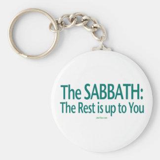 Sabbat ist die Erholung bis zu Ihnen Schlüsselanhänger