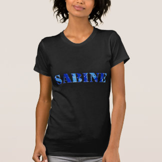 SABINE BLUE CAMO T-Shirt