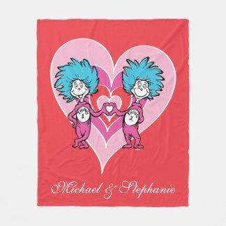 Sache 2 Dr.-Seuss Valentine | Sache-1 Fleecedecke