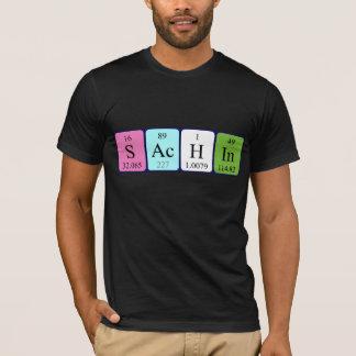 Sachin Namen-Shirt periodischer Tabelle T-Shirt