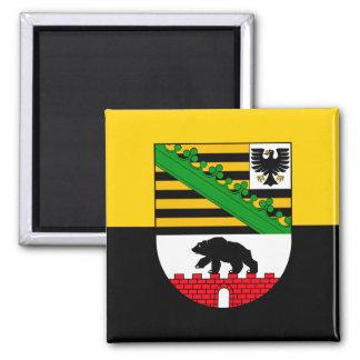 Sachsen-Anhalt Flagge Kühlschrankmagnete