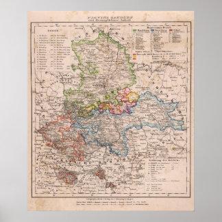 Sachsen, Anhalt Poster