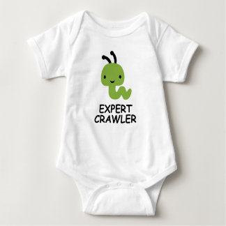Sachverständiges Raupenzollwurm-KinderShirt Baby Strampler