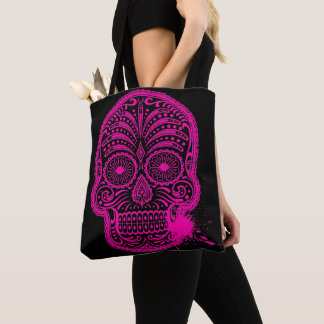Sack gedruckter Kleidersack Totenkopf Tasche