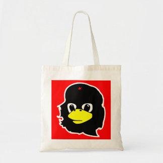 Sack Pinguin Che Guevarra Tragetasche