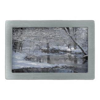 Saco Fluss-New Hampshire-Gürtelschnalle Rechteckige Gürtelschnalle