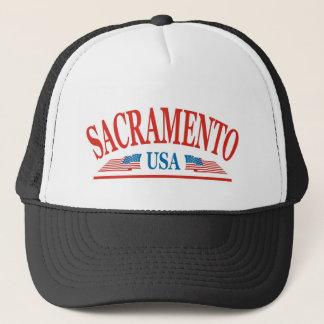 Sacramento Kalifornien USA Truckerkappe