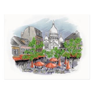 Sacre Coeur Postkarte
